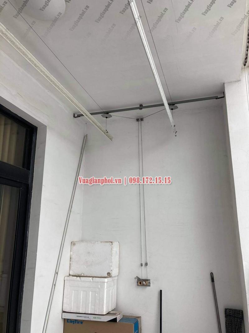 Sửa giàn phơi Royal City: thay dây cáp tại tòa R4 nhà chị Thêm - 04