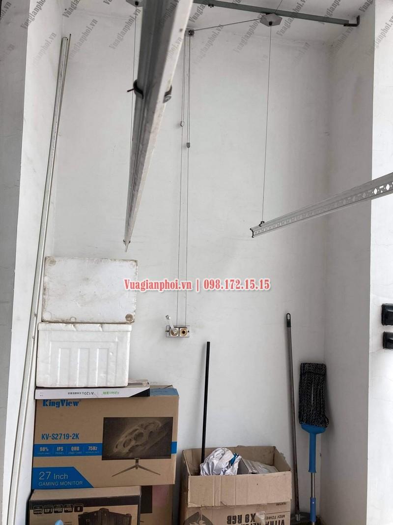 Sửa giàn phơi Royal City: thay dây cáp tại tòa R4 nhà chị Thêm - 05