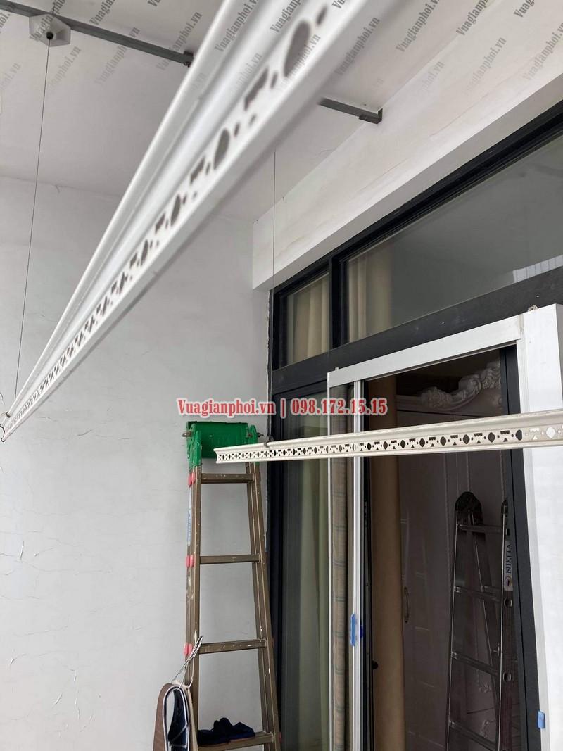 Sửa giàn phơi Royal City: thay dây cáp tại tòa R4 nhà chị Thêm - 06