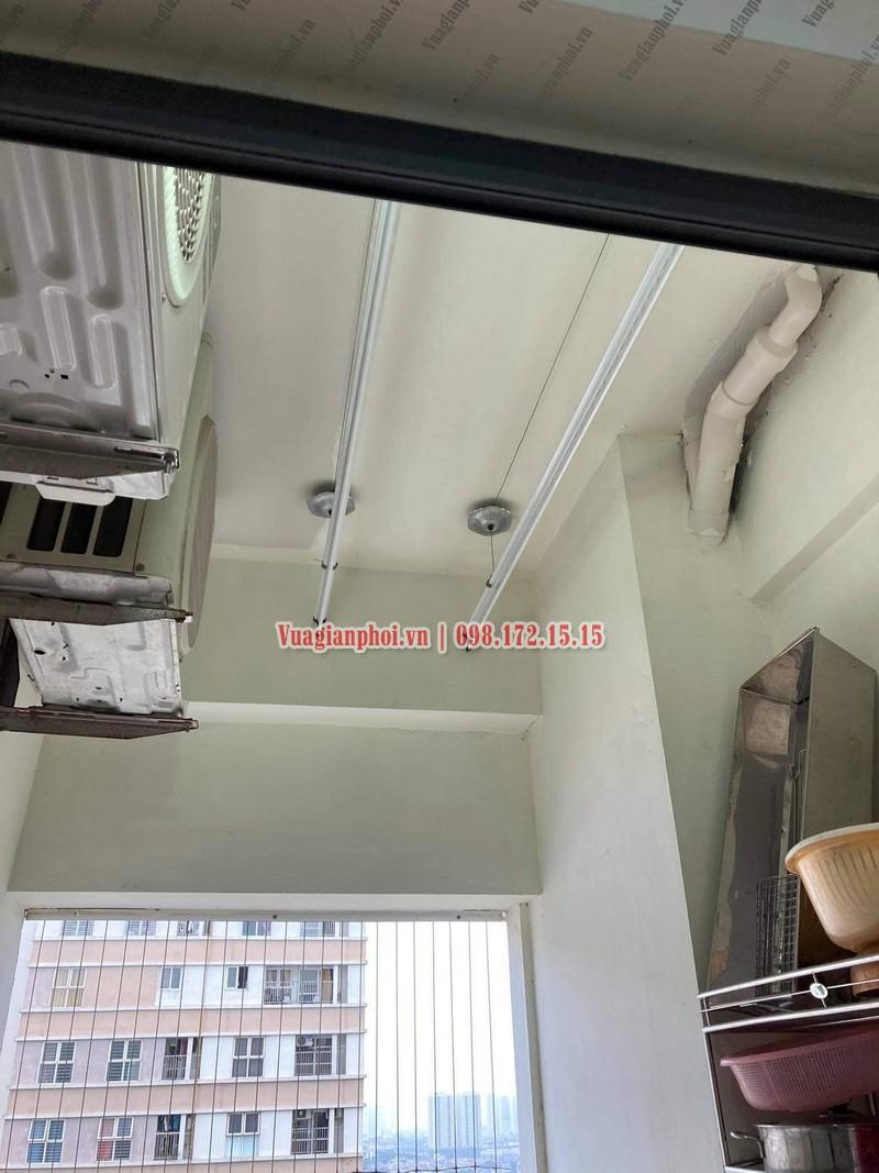 Sửa giàn phơi quần áo tại Hà Đông nhà anh Tùng, KĐT Dương Nội - 01