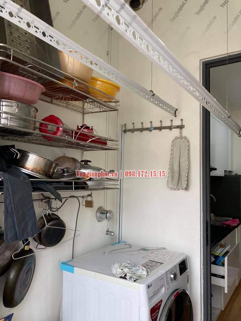 Sửa giàn phơi quần áo tại Hà Đông nhà anh Tùng, KĐT Dương Nội - 05